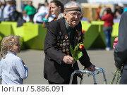Купить «9 мая в Москве», фото № 5886091, снято 9 мая 2014 г. (c) Okssi / Фотобанк Лори