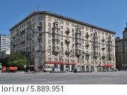 Купить «Малая Сухаревская площадь, дом 1, Москва», эксклюзивное фото № 5889951, снято 9 мая 2014 г. (c) lana1501 / Фотобанк Лори