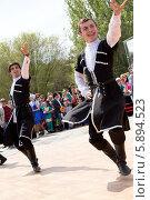 Чеченская лезгинка (2014 год). Редакционное фото, фотограф Сергей Красавин / Фотобанк Лори