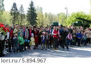 Поклонение героям (2014 год). Редакционное фото, фотограф Ладнев Владимир Евгеньевич / Фотобанк Лори