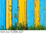 Старый забор. Стоковое фото, фотограф Денис Веселов / Фотобанк Лори