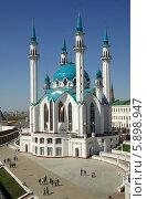 Купить «Мечеть Кул-Шариф в Казанском кремле», фото № 5898947, снято 9 мая 2014 г. (c) Natalya Sidorova / Фотобанк Лори