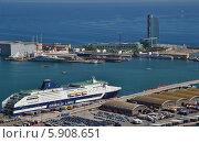 Порт в Барселоне. Испания (2012 год). Редакционное фото, фотограф Юлия Романова / Фотобанк Лори