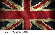 Британский флаг. Стоковая анимация, видеограф Александр Дейнега / Фотобанк Лори
