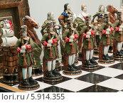 Купить «Шахматная армия. Зеленые», фото № 5914355, снято 16 марта 2014 г. (c) Сергей Неудахин / Фотобанк Лори