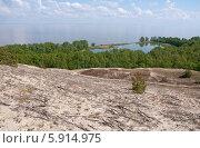 """Куршская коса. Красивый пейзаж с видом на озеро """"Лебедь"""" (2014 год). Редакционное фото, фотограф Svet / Фотобанк Лори"""
