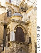 Храм Гроба Господня, Израиль, Иерусалим. Стоковое фото, фотограф Екатерина Высотина / Фотобанк Лори