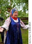 Купить «Праздник Троица В России, фольклор и народные гуляния», фото № 5939051, снято 23 июня 2013 г. (c) ElenArt / Фотобанк Лори