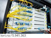 Купить «Обслуживание серверного оборудования», фото № 5941363, снято 23 мая 2014 г. (c) Дмитрий Калиновский / Фотобанк Лори