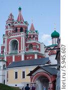 Звенигород, Саввино-Сторожевский монастырь (2014 год). Редакционное фото, фотограф Анна Романова / Фотобанк Лори