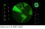 Работа радара. Стоковая анимация, видеограф Александр Дейнега / Фотобанк Лори