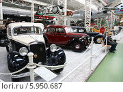 Купить «Мерседес. Выставка ретро-автомобилей.», фото № 5950687, снято 15 апреля 2008 г. (c) Александра Лукашина / Фотобанк Лори