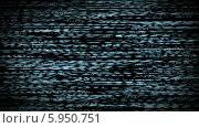 Помехи на экране телевизора. Стоковая анимация, видеограф Александр Дейнега / Фотобанк Лори