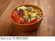 Бозбаш. Азербайджанское блюдо. Стоковое фото, фотограф Александр Fanfo / Фотобанк Лори