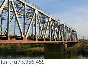 Мост через реку. Стоковое фото, фотограф Галина Карпова / Фотобанк Лори