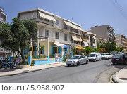 Туристическая улица в Ханья, Крит (2013 год). Редакционное фото, фотограф Наталия Пылаева / Фотобанк Лори