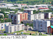 Купить «Город Аша в Челябинской области», фото № 5965907, снято 31 мая 2014 г. (c) Art Konovalov / Фотобанк Лори