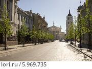 Домский собор. Вильнюс, Литва (2014 год). Стоковое фото, фотограф Иван Козлов / Фотобанк Лори