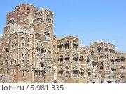 Купить «Йемен, Сана, старый город», фото № 5981335, снято 18 марта 2014 г. (c) Овчинникова Ирина / Фотобанк Лори