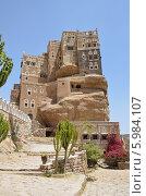 Купить «Йемен, дворец имама в Вади-Дхар в Сане», фото № 5984107, снято 18 марта 2014 г. (c) Овчинникова Ирина / Фотобанк Лори