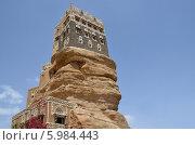 Купить «Йемен, дворец имама в Вади-Дхар в Сане», фото № 5984443, снято 18 марта 2014 г. (c) Овчинникова Ирина / Фотобанк Лори