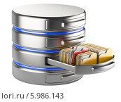 Купить «Концепция хранения базы данных», иллюстрация № 5986143 (c) Маринченко Александр / Фотобанк Лори