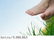 Детские ножки. Стоковое фото, фотограф GEO images / Фотобанк Лори