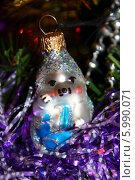 Новогодняя игрушка. Стоковое фото, фотограф Светлана Головченко / Фотобанк Лори