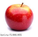 Купить «Красное яблоко», фото № 5990955, снято 20 апреля 2014 г. (c) Стебловский Александр / Фотобанк Лори