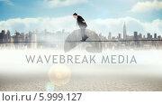 Купить «Businessman walking across a tightrope», видеоролик № 5999127, снято 4 июля 2020 г. (c) Wavebreak Media / Фотобанк Лори