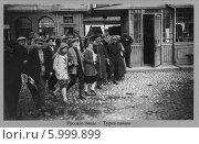 Купить «Русские типы. Дореволюционная открытка», фото № 5999899, снято 16 октября 2019 г. (c) Виктор Сухарев / Фотобанк Лори