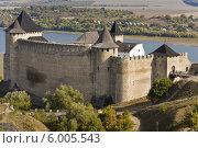 Купить «Хотинская крепость, город Хотин, Украина», иллюстрация № 6005543 (c) Maksym Yemelyanov / Фотобанк Лори