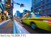 Купить «Ночная улица в Фукуоке», фото № 6008111, снято 31 октября 2012 г. (c) Александр Трофимов / Фотобанк Лори