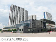 Купить «Здания рядом с метро Партизанская. Москва», фото № 6009255, снято 13 июня 2014 г. (c) Екатерина Овсянникова / Фотобанк Лори