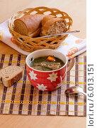 Купить «Суп из молодой козлятины (греческая кухня)», фото № 6013151, снято 16 июня 2014 г. (c) Татьяна Ляпи / Фотобанк Лори