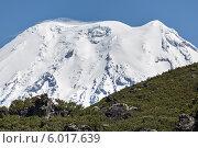 Вершина Ичинского вулкана. Камчатка. Стоковое фото, фотограф А. А. Пирагис / Фотобанк Лори