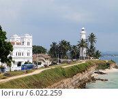 Купить «Вид на Форт Галле, Шри-Ланка», фото № 6022259, снято 1 февраля 2014 г. (c) Мальцев Артур / Фотобанк Лори
