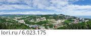 Панорама Сочи (2014 год). Стоковое фото, фотограф Александр Смаков / Фотобанк Лори
