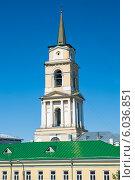 Купить «Колокольня Спасо-Преображенского собора (Пермская художественная галерея)», фото № 6036851, снято 14 мая 2012 г. (c) Elena Monakhova / Фотобанк Лори