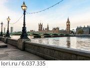 Купить «Лондонский утренний пейзаж», фото № 6037335, снято 3 ноября 2012 г. (c) Дмитрий Наумов / Фотобанк Лори
