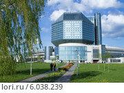 Национальная библиотека Республики Беларусь (2014 год). Редакционное фото, фотограф Евгений Самсонов / Фотобанк Лори
