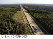 Новое Ленинградское шоссе (2014 год). Стоковое фото, фотограф Дмитрий Бакулин / Фотобанк Лори
