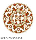 Купить «Индийский орнамент», иллюстрация № 6042343 (c) Irina Danilova / Фотобанк Лори