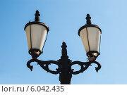 Купить «Фонарь на Соборной площади города Перми», фото № 6042435, снято 14 мая 2012 г. (c) Elena Monakhova / Фотобанк Лори