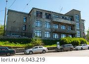 Купить «Узел связи Камского речного пароходства», фото № 6043219, снято 14 мая 2012 г. (c) Elena Monakhova / Фотобанк Лори