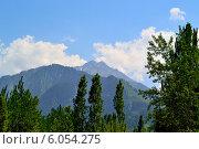 Горы Казахстана. Стоковое фото, фотограф Nuridin Kaliyev / Фотобанк Лори
