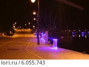 Мост в марине (Лимассол Кипр) Стоковое фото, фотограф Валерий Волобоев / Фотобанк Лори