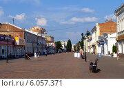 Купить «Тамбовский Арбат - улица Коммунальная», фото № 6057371, снято 25 мая 2014 г. (c) SevenOne / Фотобанк Лори