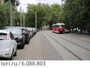 Трамвай. Редакционное фото, фотограф Алена Перфилова / Фотобанк Лори
