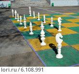 Шахматы в сквере. Стоковое фото, фотограф Александр Бураков / Фотобанк Лори